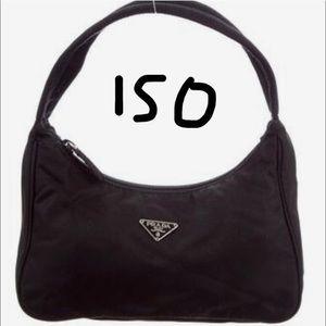 ISO Prada nylon mini bag
